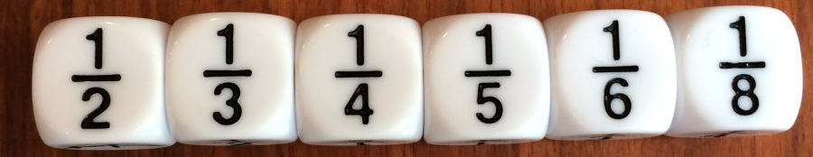 fractional dice
